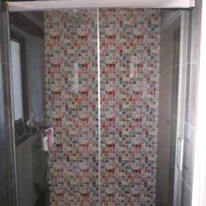 Andy Warhol Shower Tiles
