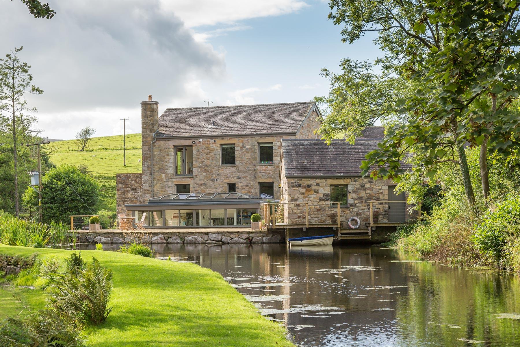 Mill Restoration Pond