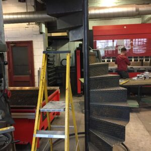 Spiral Staircase Fabrication