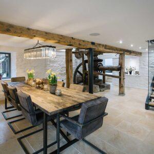 Mill Restoration Dining Room